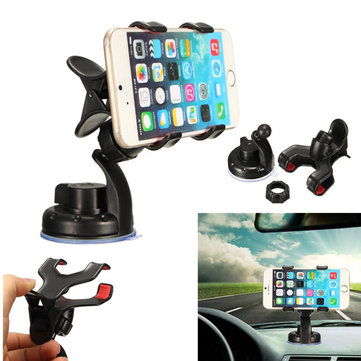 Universal Windshield Dashboard Suction Cup Car Holder Mount Anti-Slip For iPhone HTC Samsung Galaxy