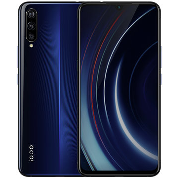 VIVO iQOO 6.41 Inch FHD+ NFC 4000mAh 22.5W Flash Charge 6GB 128GB Snapdragon 855 4G Gaming Smartphone Smartphones from Mobile Phones & Accessories on banggood.com