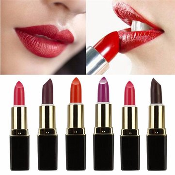 Matte Velvet Makeup Lipstick Smooth Lip Gloss Waterproof Long Lasting