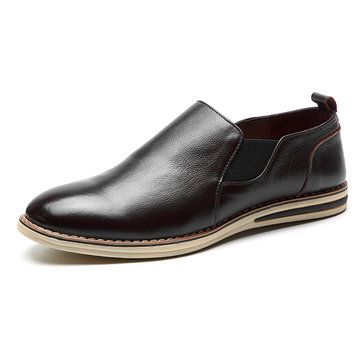 Мужчины Натуральная Кожа Повседневная обувь для бизнеса Oxfords Shoes