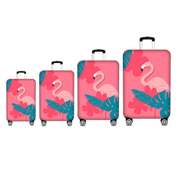 18-32 Inch Polyester Waterproof Dustproof Fashion Travel Suitcase Luggage Cover Protector