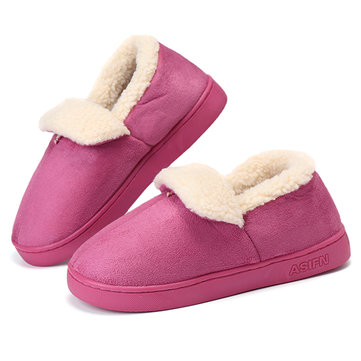 Unisex Cotton Indoor Keep Warm Comfy Home Shoes