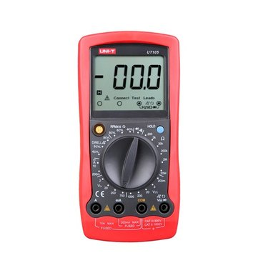 UNI-T UT105 LCD Handheld DC/AC Digital Automotive Multimeter Multipurpose Meters Car Repairing Multimeter