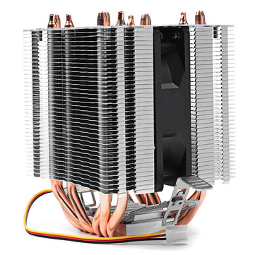 DC 12V 4Pin 2200RPM CPU Cooling Fan Cooler Heat Sink For Intel AMD