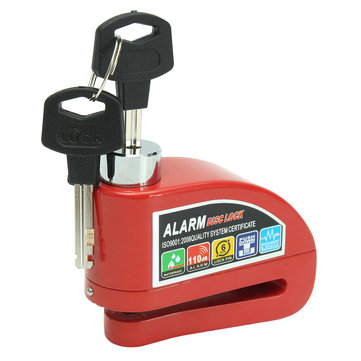 Alarm Motorbike Disc Lock Scooter Motorcycle Lock Bike Lock Security