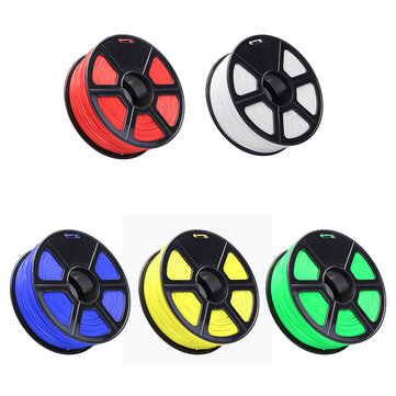 1KG/Roll TLS-ABS Filament For 3D Printer Red/Blue/White/Green/Yellow Color