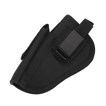 Nylon Gun Holster Holder Waist Bag For Left/Right Hand Concealed Clip-on Gun Accessories Tactical Equipment
