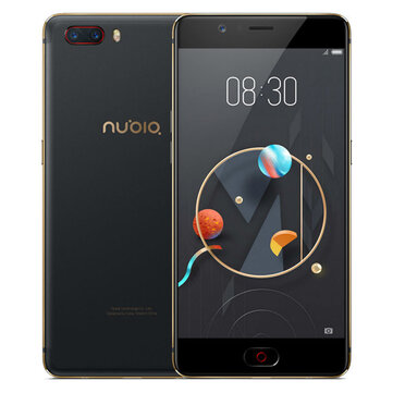 $100 OFF Direct Discount For Nubia M2 Global 128GB Smartphone