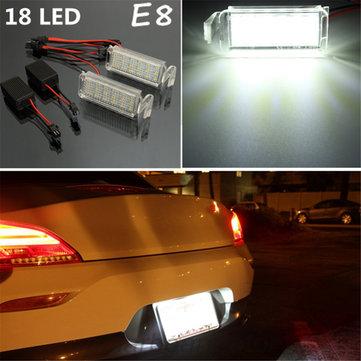 2 x 18 LED SMD Number License Plate Light For Ford Falcon FG BA/BF XR 6/8 White