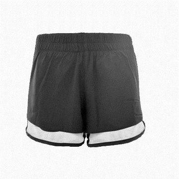 TH053 New Fake Two Sports Net Gauze Prevent Light Loose Women Running Yoga Gym Shorts