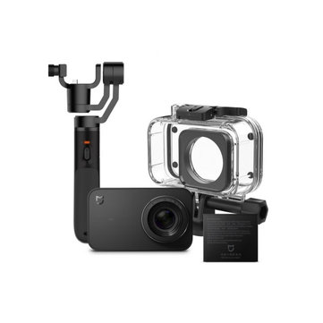 Xiaomi Mijia 4K Mini Action Sport Camera 3-Axis Gimbal Waterproof Case Battery Set Chinese Version
