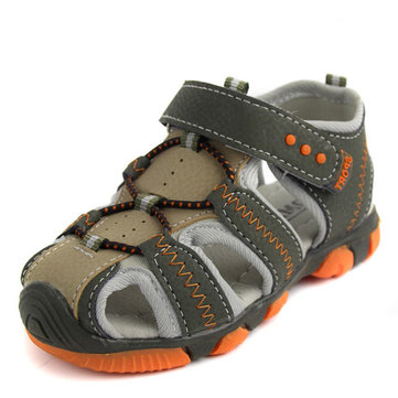 Boys Outdoor Sports Sandals Children Shoes Breathable Kids Causal Beach Cut-Out Flat Summer Footwear