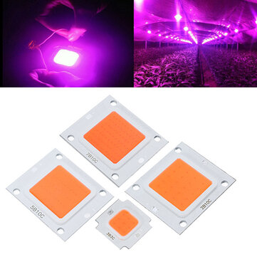 10W 20W 30W 50W 70W 100W LED Full Spectrum Plant Grow Chip DIY DC9-10V / DC20-32V