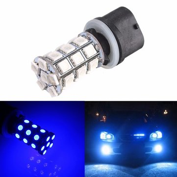 Ultra Blue 880 5050 27-SMD LED Bulb Fog Driving DRL Headlight