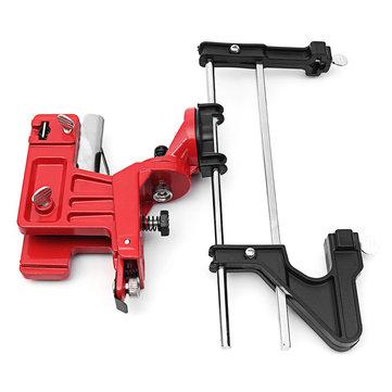 Manual Chain Saw Sharpener Grinder Bar Mounted Filing Clamp Tools Kit
