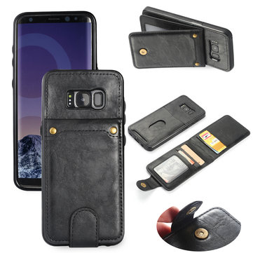 Bakeey Custodia in pelle staccabile per stand per PU per Samsung Galaxy S8 Plus