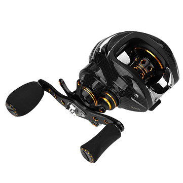 ZANLURE LB200 7.0:1 17+1BB Metal Baitcasting Fishing Reel Left/Right Hand Fresh/Saltwater Fishing