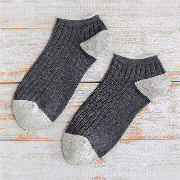 Mens Deodorization No Show Boat Slipper Socks
