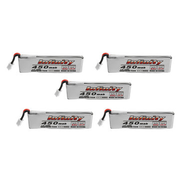 5Pcs AHTECH Infinity 3.7V 450mAh 85C 1S LiPo Battery for Quadcopter