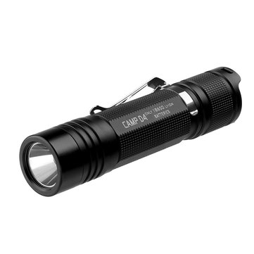 Folomov Camp D4 XP-L 1080Lumens 4Modes Portable Tactical Outdoor LED Flashlight 18650