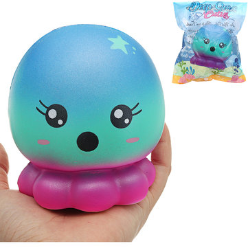 Cutie Creative Octopus Squishy 16cm Slow Rising With Packaging Collection Gift Soft Toy