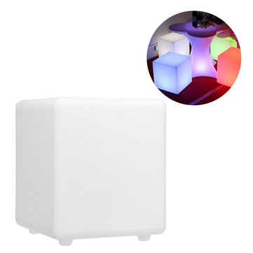 20cm 16 Color Waterproof LED Cube Light Outdoor Camping Square Lamp Colorful Lights