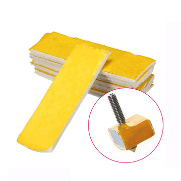 10Pcs 3mm Thickness 3D Printer Heating Block Cotton Hotend Nozzle Heat Insulation Cotton