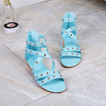 Women Summer Flats Fashion Slip On Soft Comfortable Beach Casual Sandals Shoes