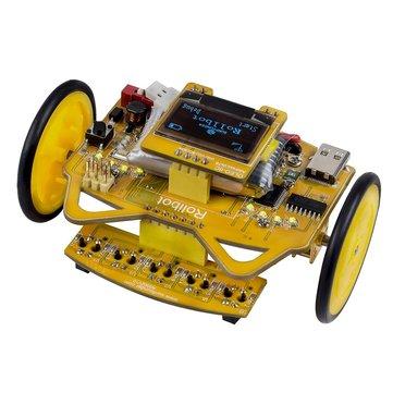 SunFounder RollbotMicro Infrared Sensor OLED Educational Robotics Car Kit GUI-Mixly for Arduino