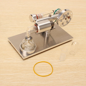 STEM Hot Air Stirling Engine Model Generator