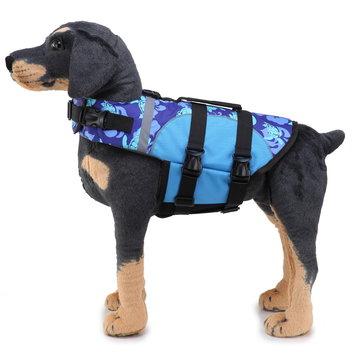 Dog Coats Jackets Life Jacket Safety Clothes for Pet Vest Summer Saver Pet Swimsuit