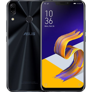 ASUS ZenFone 5Z 6.2 Inch 8GB RAM 256GB ROM Snapdragon 845 2.8GHz Octa Core 4G Smartphone