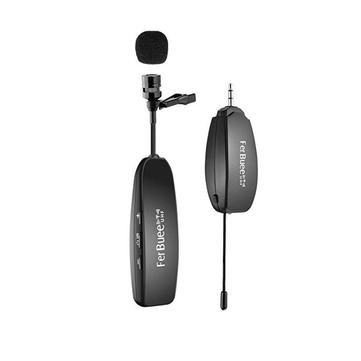 Lavalier Lapel Microfono wireless ricaricabile per notebook Telecamere Altoparlanti per l'insegnamento della riunione vocale