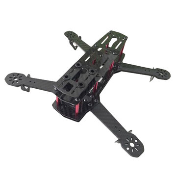 ZMR250 V2 Carbon Fiber Frame Kit RC Drone FPV Racing 4.0mm Arm Thickness Support 1806 2204 2206 Power