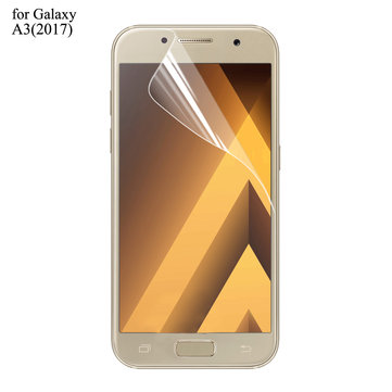 ENKAY Ultra Thin High Definition Screen Protector Clear PET Film for Samsung Galaxy A3(2017)