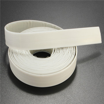 22mm ×3.35m PVC Waterproof Tape Seal Ring Strip Sink Basin Edge Repair Tape