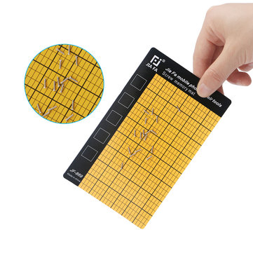 JF-869 Magnetic Screw Mat Memory Chart Work Pad Mobile Phone Repair Tools 145 x 90mm