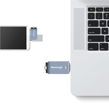 Maxchange 2 in 1 USB 3.1 Type C OTG Flash Drive U Disk for Mobile Phone Computer 32G