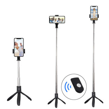 Bakeey Bluetooth Wireless Mini Tripod Selfie Stick Monopod with Remote Control for iPhone 8 Xiaomi