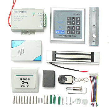 Rfid Door Access Control System Id Card Password Keypad Kit With