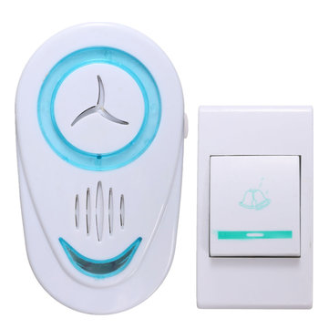 Home Security Digital Cordless Wireless Doorbell Door Chime Bell Kit 36 Music