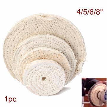 100/125/150/200mm Cotton Buffing Wheel Polishing Wheel