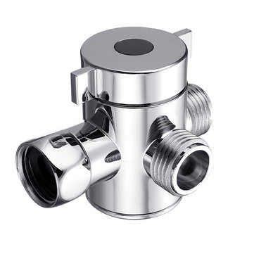 Multifunction 3 Way Shower Head Diverter Valve G1/2