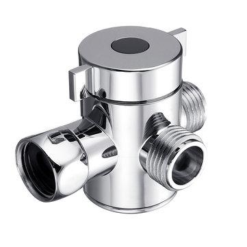 다기능 3 웨이 샤워 헤드 분배기 밸브 G1 / 2