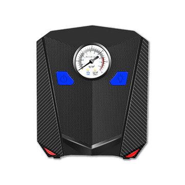 Car Mini Portable Air Compressor Electric Car Tyre Inflator Pump Gauge