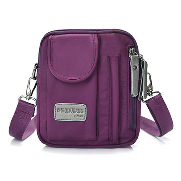 Women Men Nylon Light Weight Waterproof Messenger Bags Casual Shoulderbags Messenger Bags