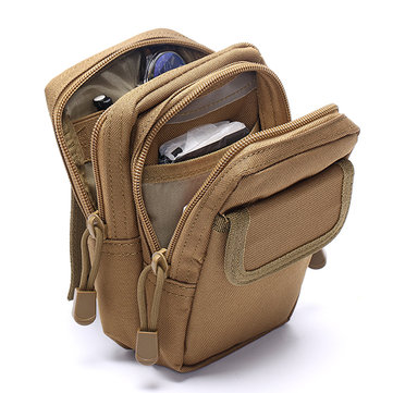 Men Molle Outdoor Sport Tactical Package Casual Nylon Bag