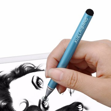 Shelley Pen 2 In 1 Fiber & Disc Tips Capacitive Touch Screen Stylus Pens For iPhone iPad Smart Phone Tablet