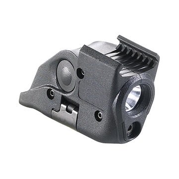 Mini Aiming Red Dot Laser Sight Scope & LED Flashlight Combo 2 in 1 Kit Tactical Rail Mount
