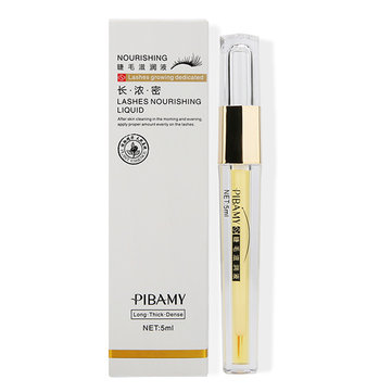 PIBAMY Eyelash Growth Liquid Treatments Thicker Lengthening Eyebrow Enhancer Serum 5ml